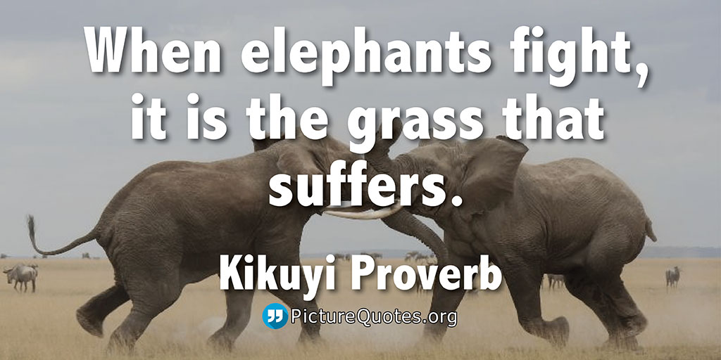 Kikuyi Proverb Quote