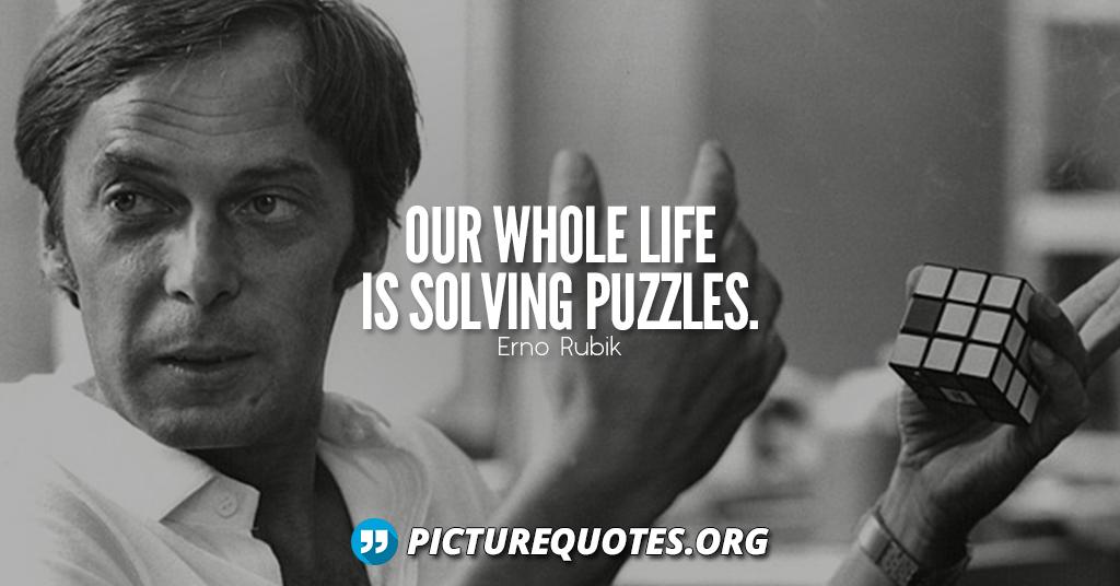 Erno Rubik Quote
