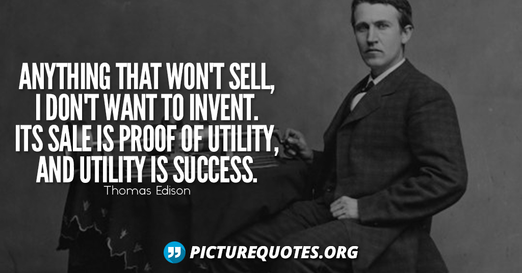 Thomas Edison Quote4